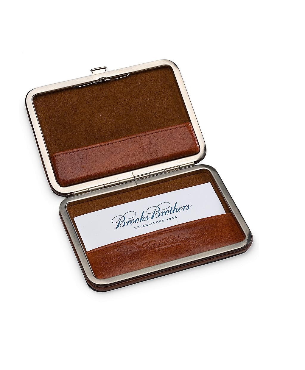gallery - Leather Business Card Case
