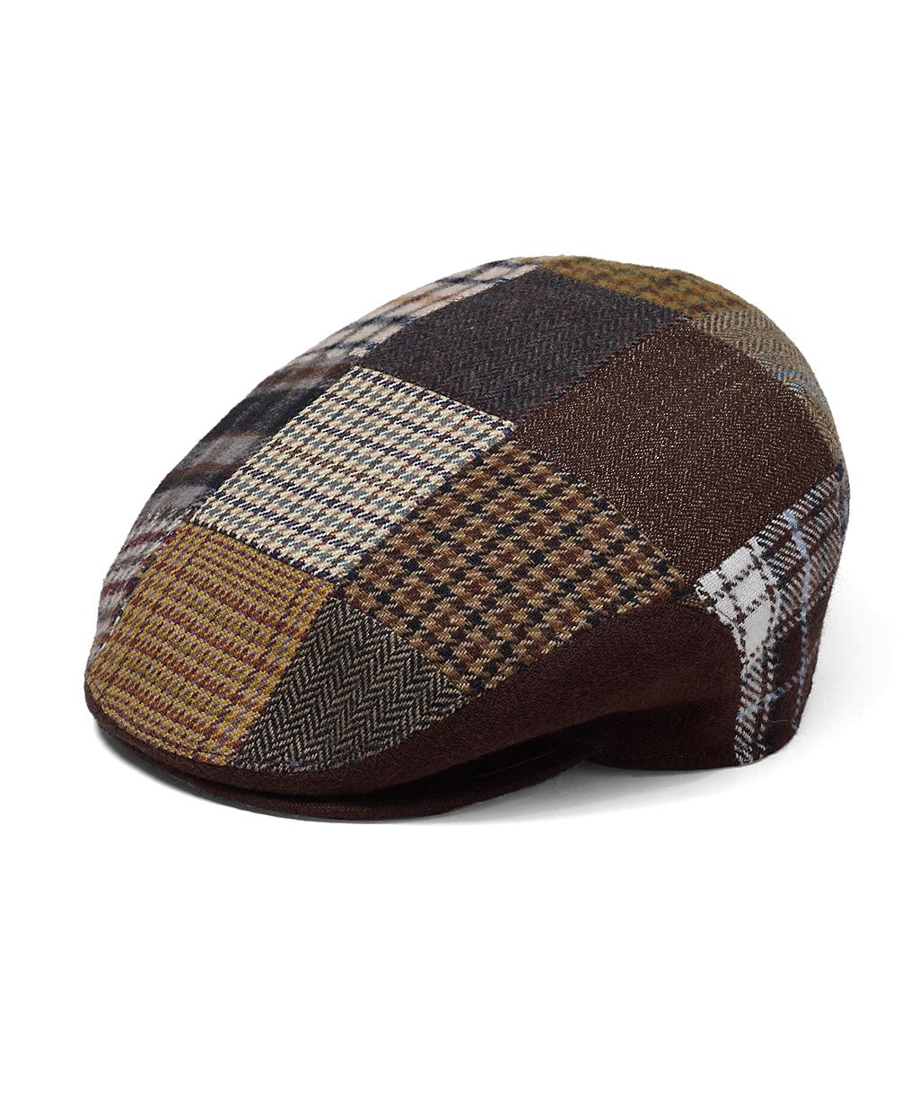 defec1ed368 Lyst - Brooks Brothers Wool Patchwork Ivy Cap in Brown for Men