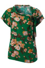Dickins & Jones Ladies Printed Short Sleeve Blouse - Lyst
