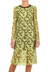 Erdem Silk Lace Dress - Lyst