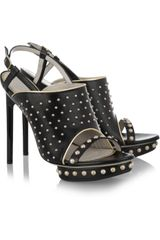 Jason Wu Marlene Studded Leather Sandals - Lyst
