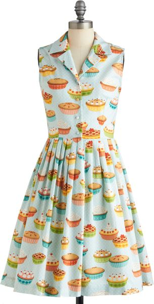 ModCloth My Kind Of Pie Dress - Lyst