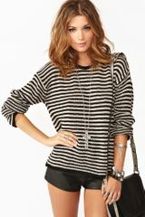 Nasty Gal Hanni Stripe Knit - Lyst