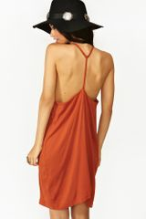 Nasty Gal Kozue Dress Copper - Lyst