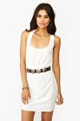 Nasty Gal Sunburst Crochet Dress White - Lyst