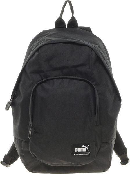 puma backpack in black for men lyst