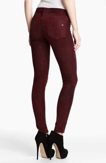 Rag & Bone Jean Stretch Leather Leggings - Lyst