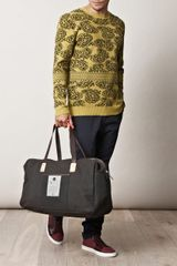 Marc Jacobs Paisley Knitted Sweater in Yellow for Men - Lyst