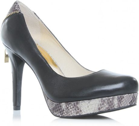 Michael By Michael Kors Kadin Pump in Black - Lyst