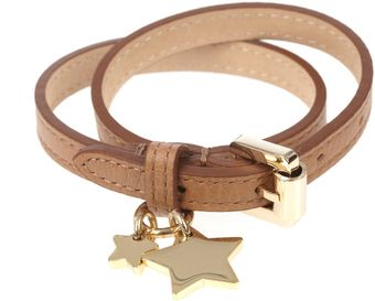 Mulberry Double Wrap Star Charm Bracelet - Lyst