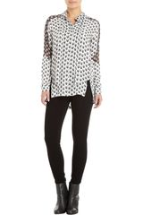 Rag & Bone Arrow Blouse - Lyst