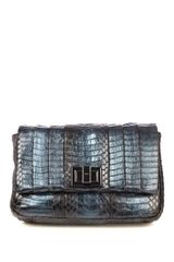 Anya Hindmarch Mini Gracie Snakeskin Crossbody Bag - Lyst