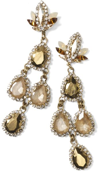 Club Monaco Erickson Beamon Earring - Lyst