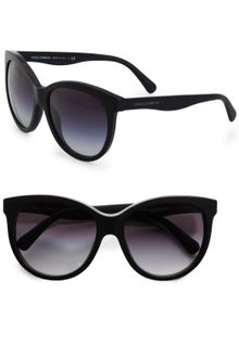 Dolce & Gabbana Oversized Cats-Eye Acetate Sunglasses - Lyst