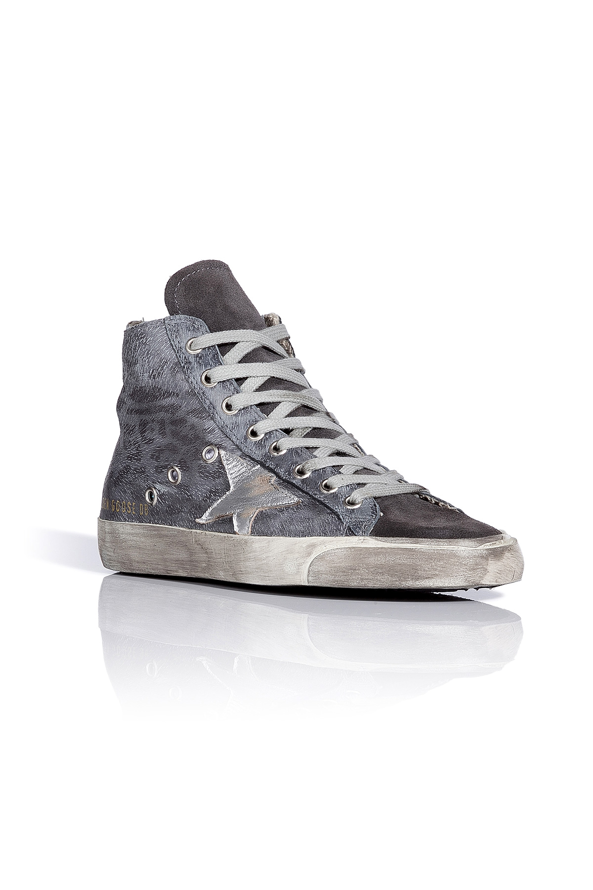Cheapest Online Francy Leopard sneakers - Metallic Golden Goose Buy Authentic Online PRpiKT