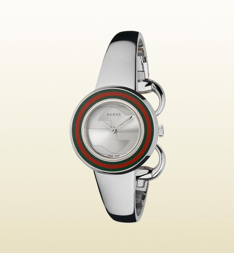 Gucci  Small Version Watch in Gray (steel) - Lyst