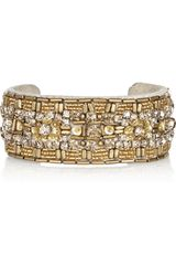 Isabel Marant Sunny Girl Embellished Leather Cuff - Lyst