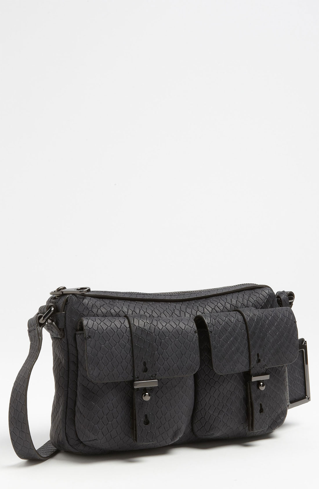 Marc By Marc Jacobs Werdie Snake Embossed Camera Bag In