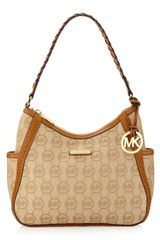 Michael by Michael Kors Whip Stitch Hobo Tan - Lyst