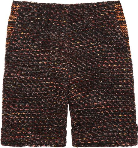 Mulberry Bouclétweed Shorts in Multicolor (multicolored)