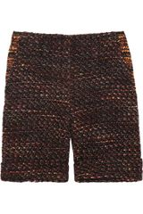Mulberry Bouclétweed Shorts in Multicolor (multicolored) - Lyst