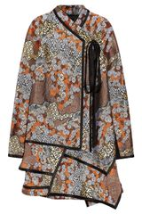 Proenza Schouler Asymmetric Brocade Dress - Lyst