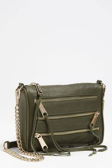 Rebecca Minkoff 5 Zip Mini Crossbody Clutch - Lyst