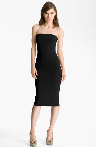 Robert Rodriguez Tube Dress In Black Lyst