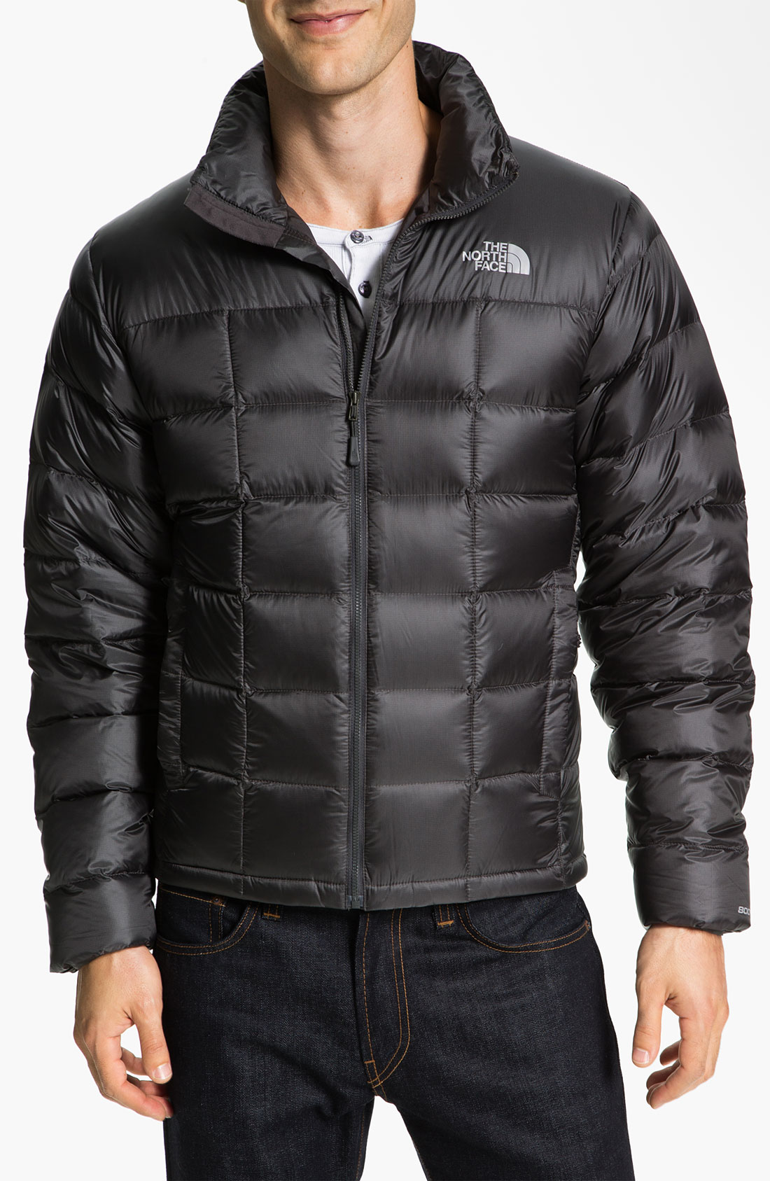 The North Face Thunder 800 Down Fill Puffer Jacket In