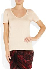 The Row Sabeen Jersey Tshirt in Pink (rose) - Lyst