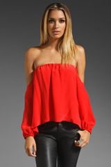 Boulee Audrey Off The Shoulder Top - Lyst