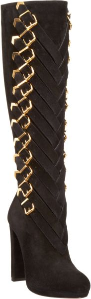 Christian Louboutin Lady Troop in Black (gold) - Lyst