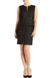 Diane Von Furstenberg Delian Pebble Lace Dress - Lyst