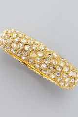 Kenneth Jay Lane Crystalencrusted Bracelet - Lyst