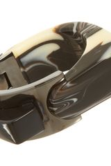 Lanvin Abstract Deco Large Bracelet - Lyst
