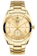 Movado Womens Swiss Origin Gold Ion Plated Stainless Steel Bracelet 36mm - Lyst