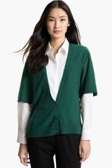 Nordstrom Collection Cashmere Cardigan - Lyst