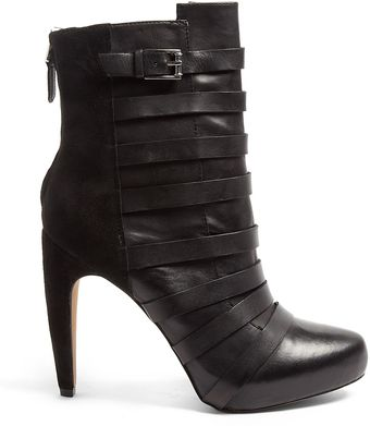 Sam Edelman Kendrix Buckle High Ankle Boots - Lyst