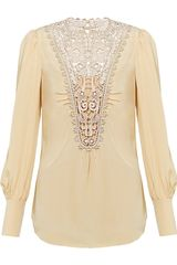 Temperley London Catherine Top - Lyst
