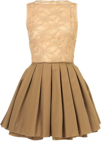 Topshop Audrey Dress  - Lyst