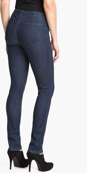 Cj By Cookie Johnson Christopher Blue Angel Skinny Stretch Jeans - Lyst