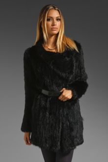 Elizabeth And James Elijah Fur Coat - Lyst