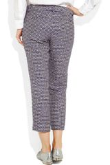J.crew Café Silkblend Tweed Capri Pants in Gray (café) - Lyst