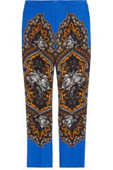 Stella McCartney Hamilton Printed Twill Pants - Lyst