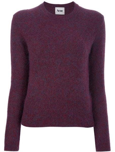 Acne Studios Lia Sweater in Red