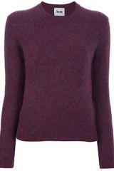 Acne Lia Sweater in Red - Lyst