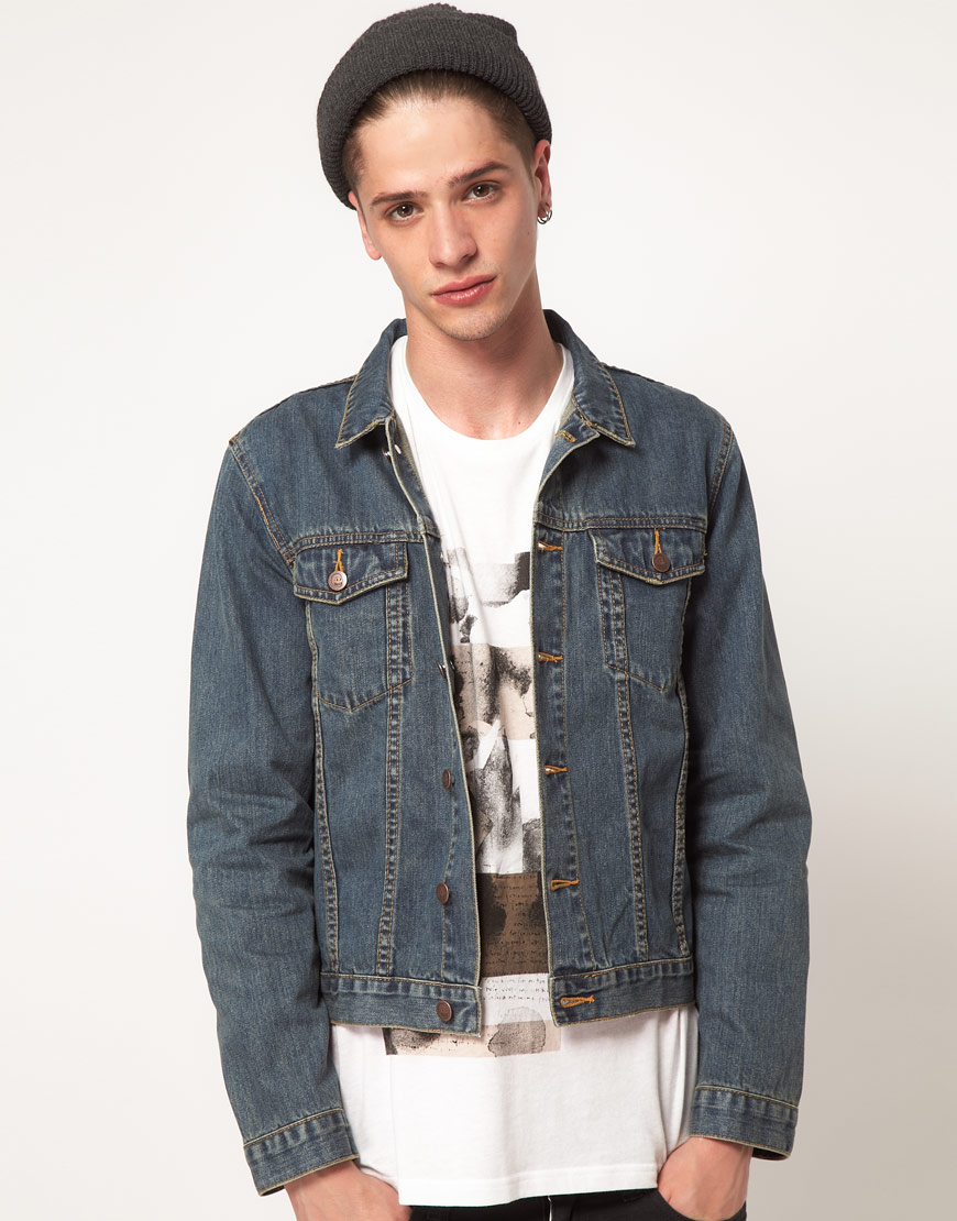 Lyst - Cheap monday Tobias Denim Jacket in Blue for Men