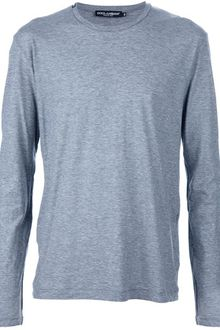 Dolce & Gabbana Long Sleeve T-Shirt - Lyst