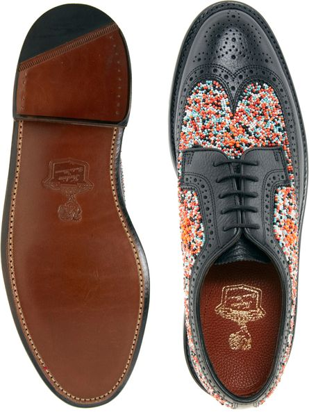 Florsheim Brogue Shoes Duckie Beaded Brogue Shoes