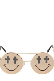 Jeremy Scott Shiny Smile Sunglasses - Lyst